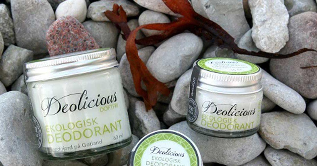 Giftfria hudvårdsprodukter som är bra både för dig och miljön!