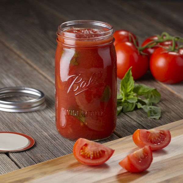 Mason jar wide mouth quart 0,9 liter