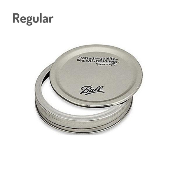 Ball mason jar lid regular