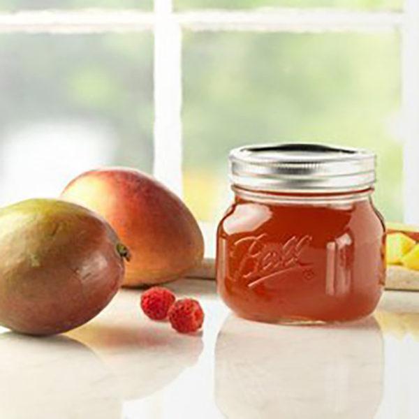 Mason jar wide mouth pint elite